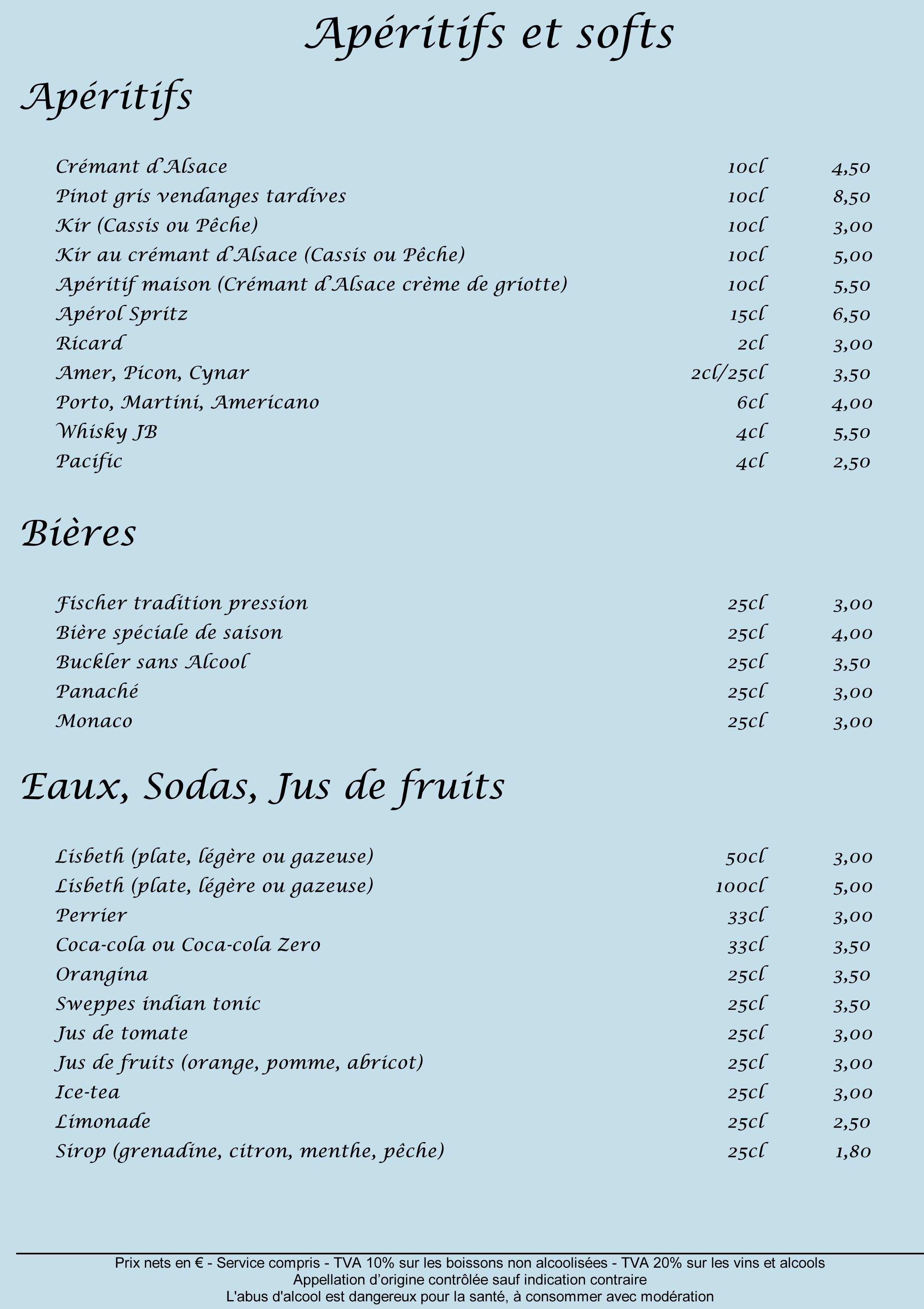 Carte Restaurant Boisson.Carte Boissons Marche De Noel 2017 2 Le Caveau Saint Pierre